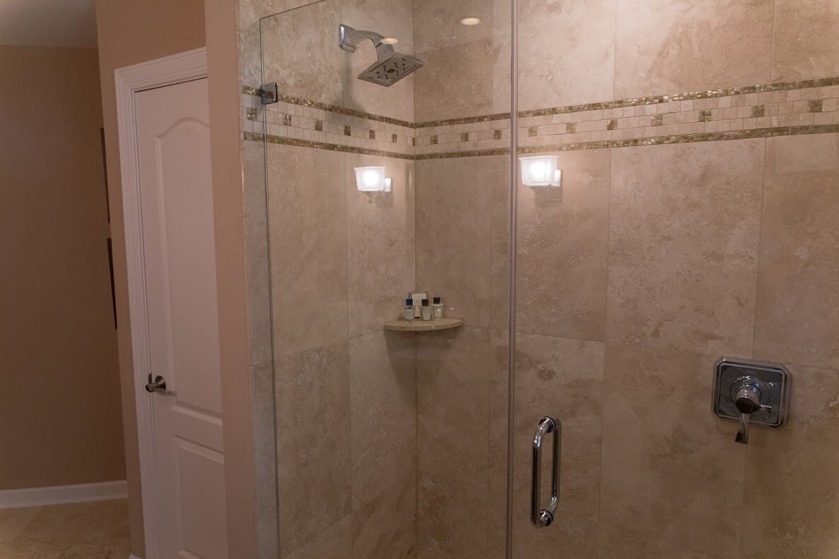 Honeycomb Bathroom Remodel in Rochester, NY | Concept II