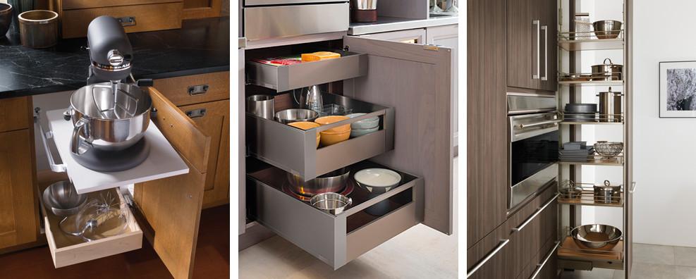 Kitchen Cabinet Storage Trends