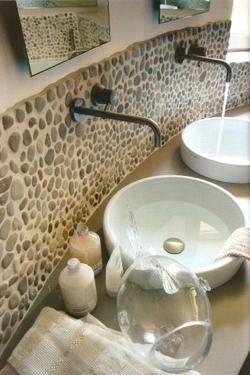 Stone Tile Backsplash