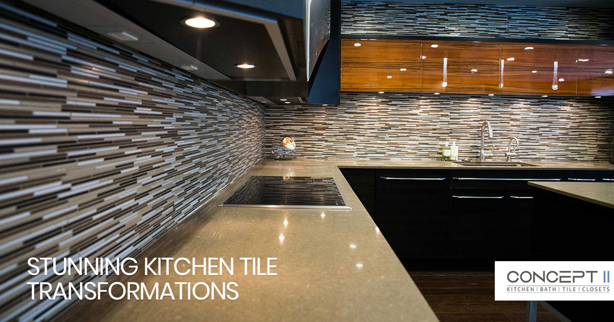Using Tile to Create Stunning Kitchen Transformations
