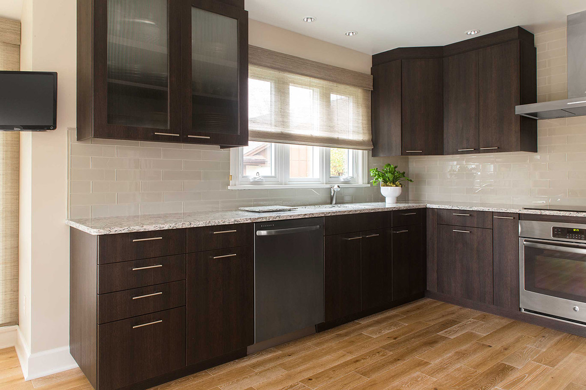 Warm and Refined Kitchen Remodel in Rochester, NY | Concept II