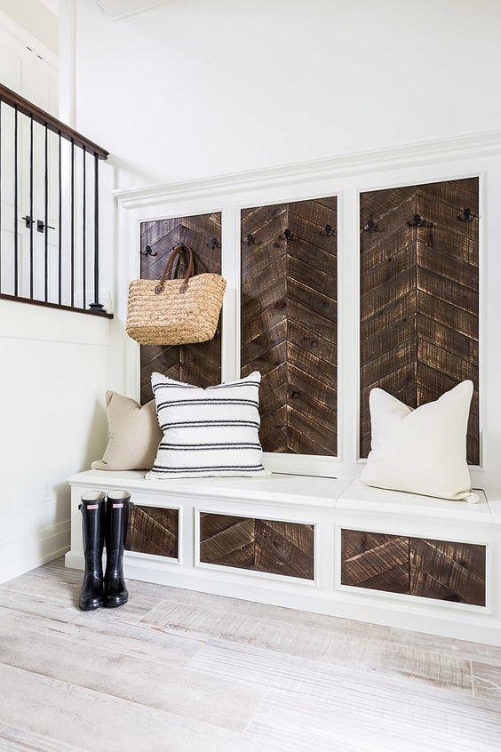 tile that looks like wood for backsplash