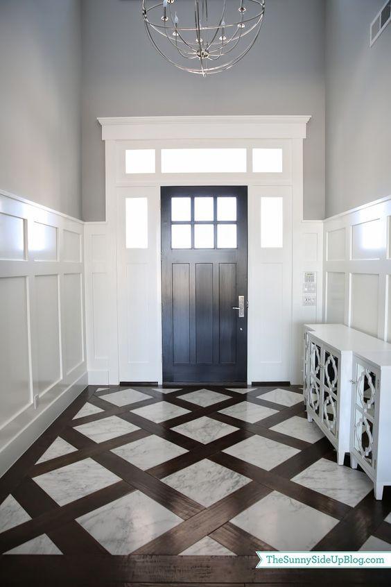entryway tile that looks like wood