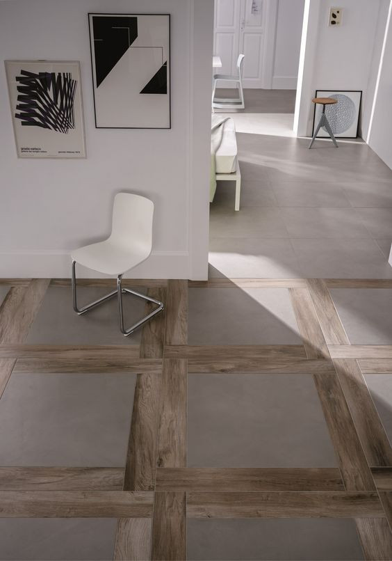 inlay tile that looks like wood