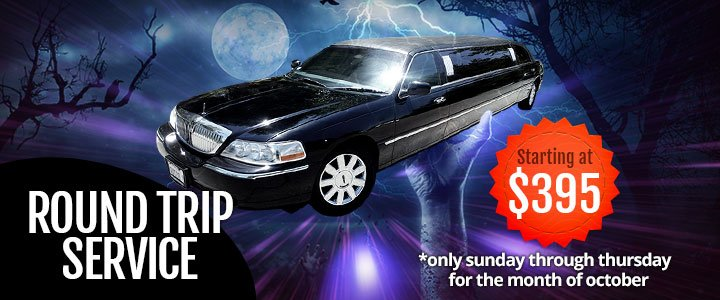 Halloween Limo Transportation