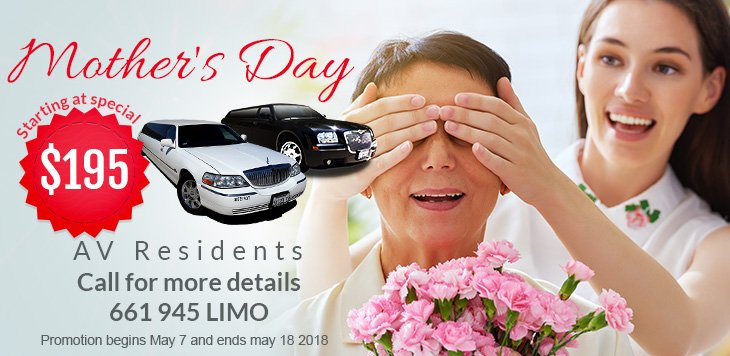 Mother's Day Limousine Promotion