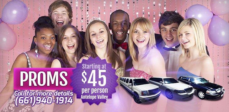 Prom & Senior Ball Limousine Rentals