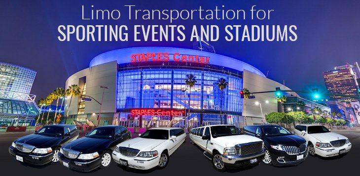 Limo Service to LA Sporting Events and Stadiums
