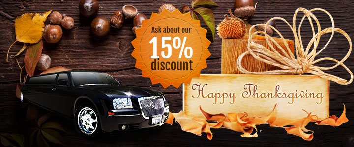Limos for Thanksgiving & Black Friday Shopping