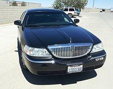 Black Lincoln Executive Sedan