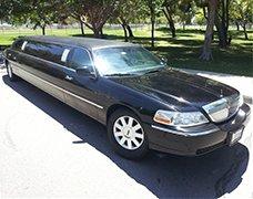 Black Lincoln Krystal Limousine