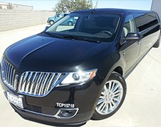 Black Lincoln MKX Limo