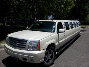 16 Passenger Superstretch White SUV Limo