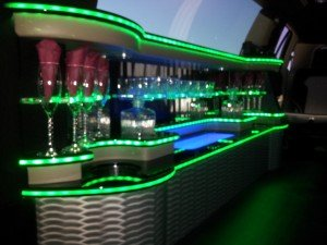 Beautiful Limousine Interior