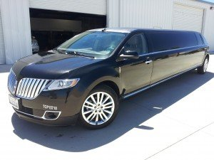 Black Lincoln MKX Crossover Limousine
