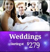 Limo Rentals for Weddings