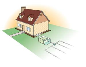 septic drawing residential home