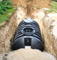residential septic installation