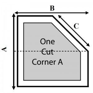 1 Cut Corner - A
