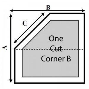 1 Cut Corner - B
