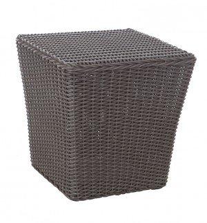 Bel Cubo Square Outdoor Wicker Bistro Set