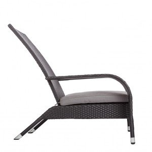 Black Coconino Wicker Chair