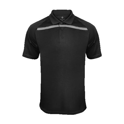 Men's GoGatorGear Training Polo - Black/Grey