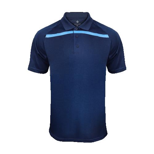 Men's GoGatorGear Training Polo - Navy/Columbia Blue
