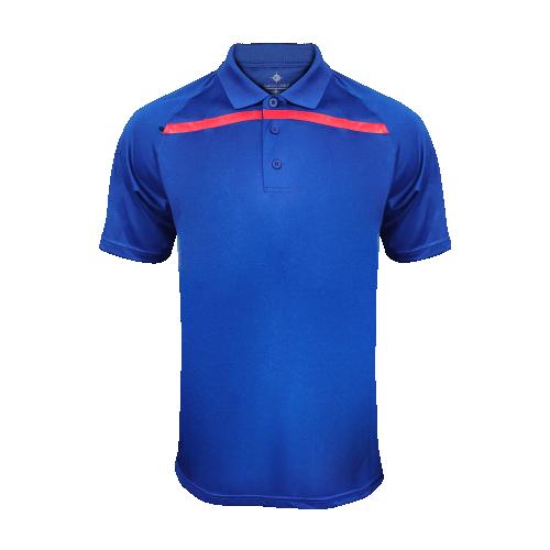 Men's GoGatorGear Training Polo - Royal Blue/Red