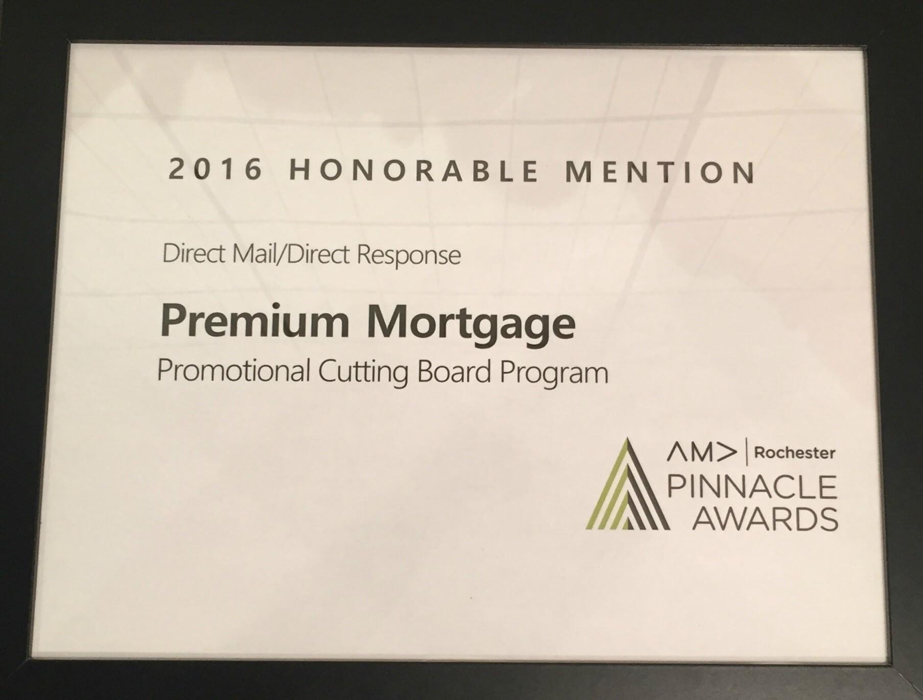 Premium Recognized at 2017 AMA Pinnacle Awards