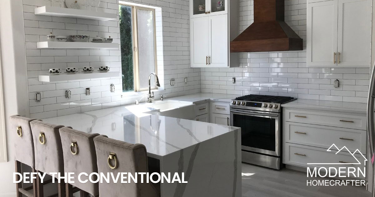Defy the Conventional with your Kitchen Remodel