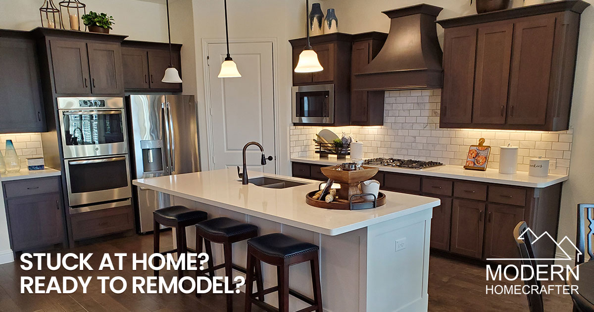Stuck at home? Ready to plan that home remodel?