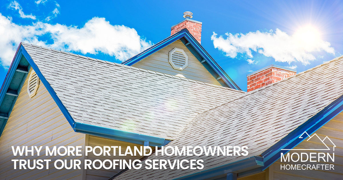 Exceptional Roofing Services for Portland Homeowners