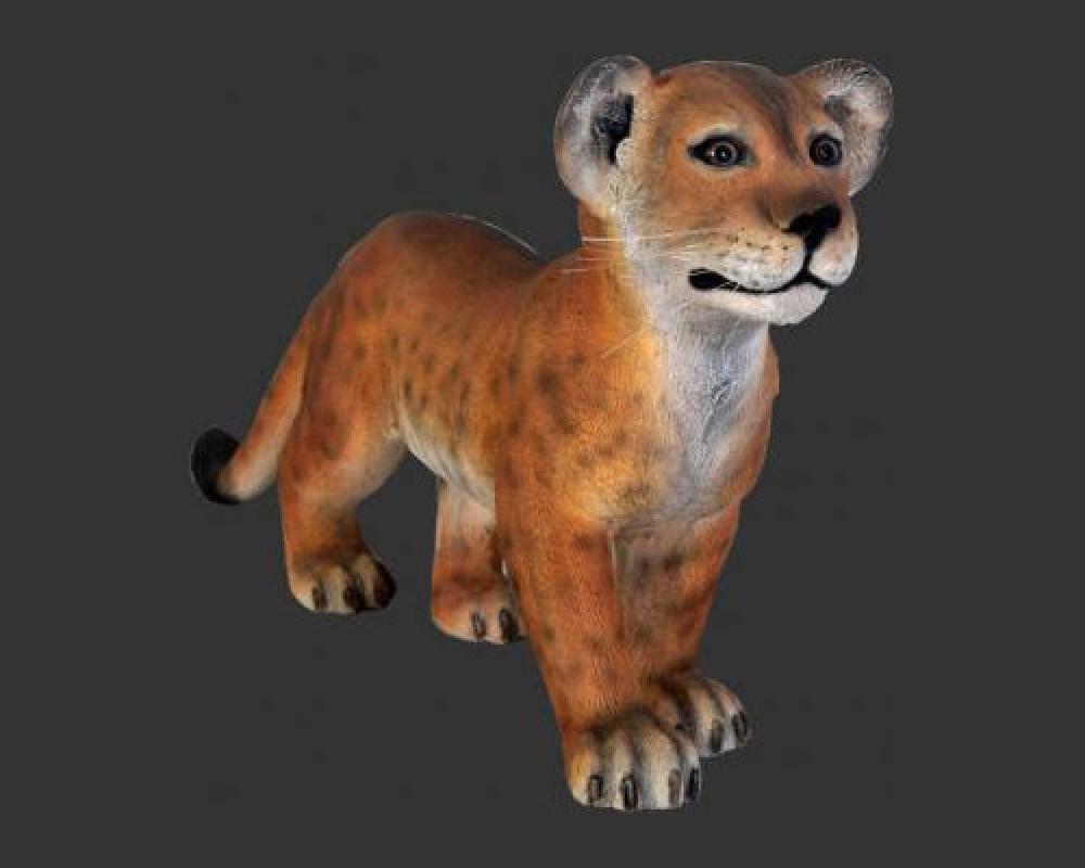 Lion Cub - Standing