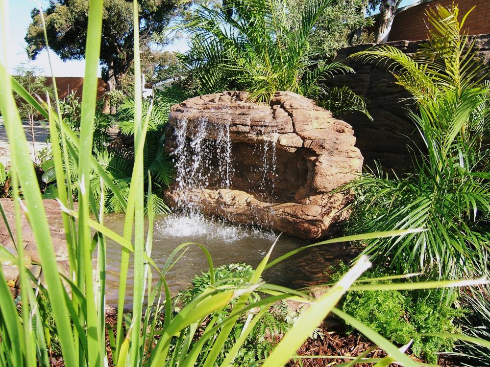 Ponds - pond waterfalls - waterfalls - CAVE-004