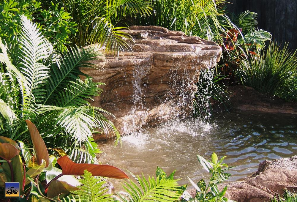 Ponds - pond waterfalls - waterfalls - CAVE-006