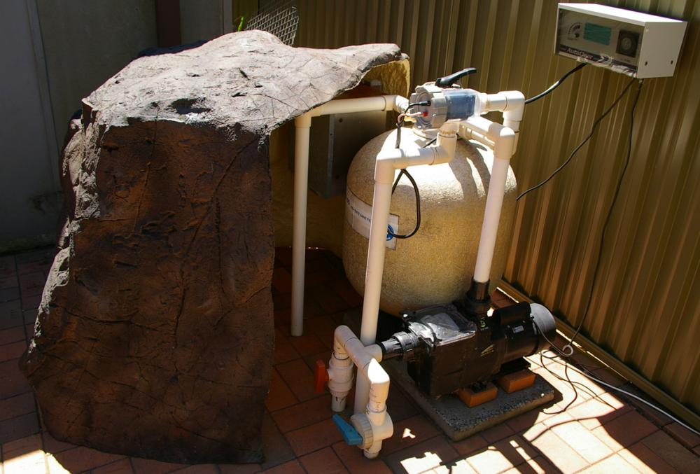 Pool Pump Cover Rock - PPC-001