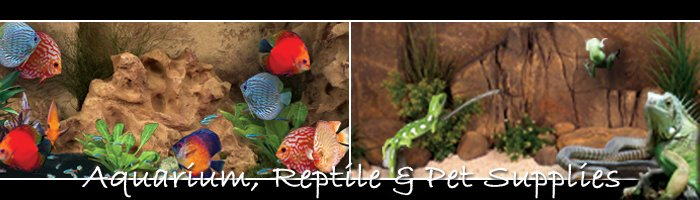 Aquarium, Reptile & Pet Supplies
