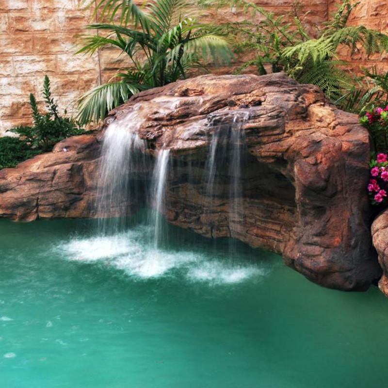 """Tahitian Waterfall"" Complete Swimming Pool Waterfall Kit"