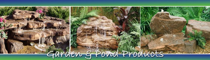 garden ponds and water fall products