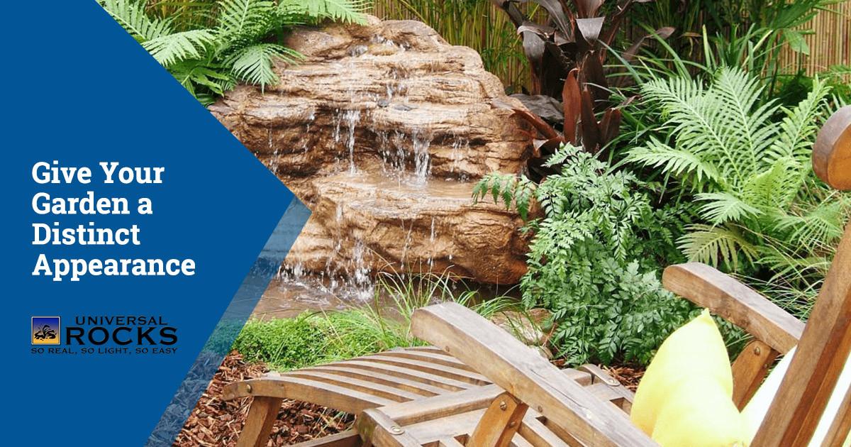 Enhance Your Garden with Lightweight Artificial Rock Features