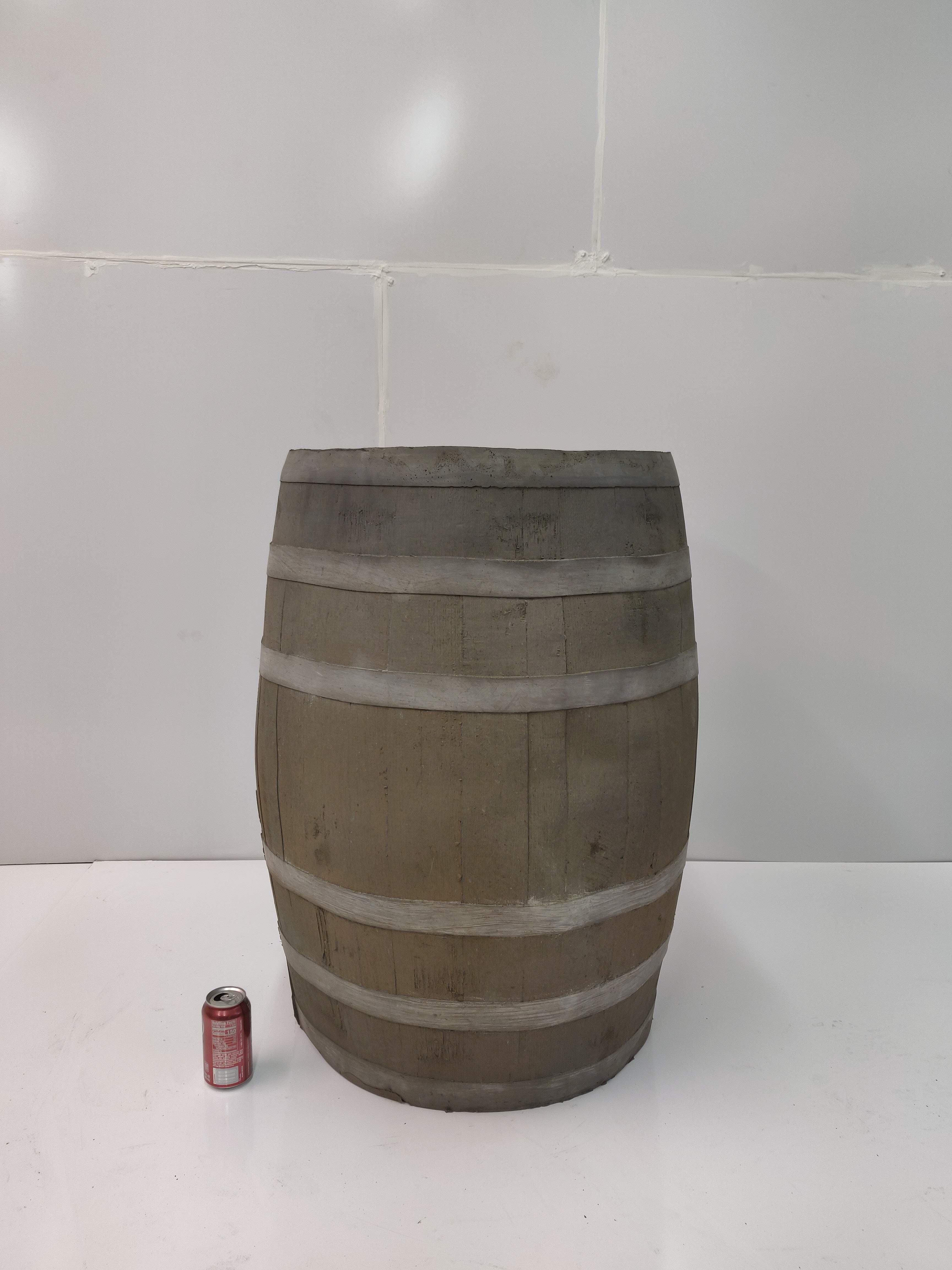 """Bargain-006 """"Large Whiskey Barrel"""""""