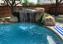 """A NEW Product"" ""Sunset Grove"" Complete Swimming Pool Waterfall Kit"