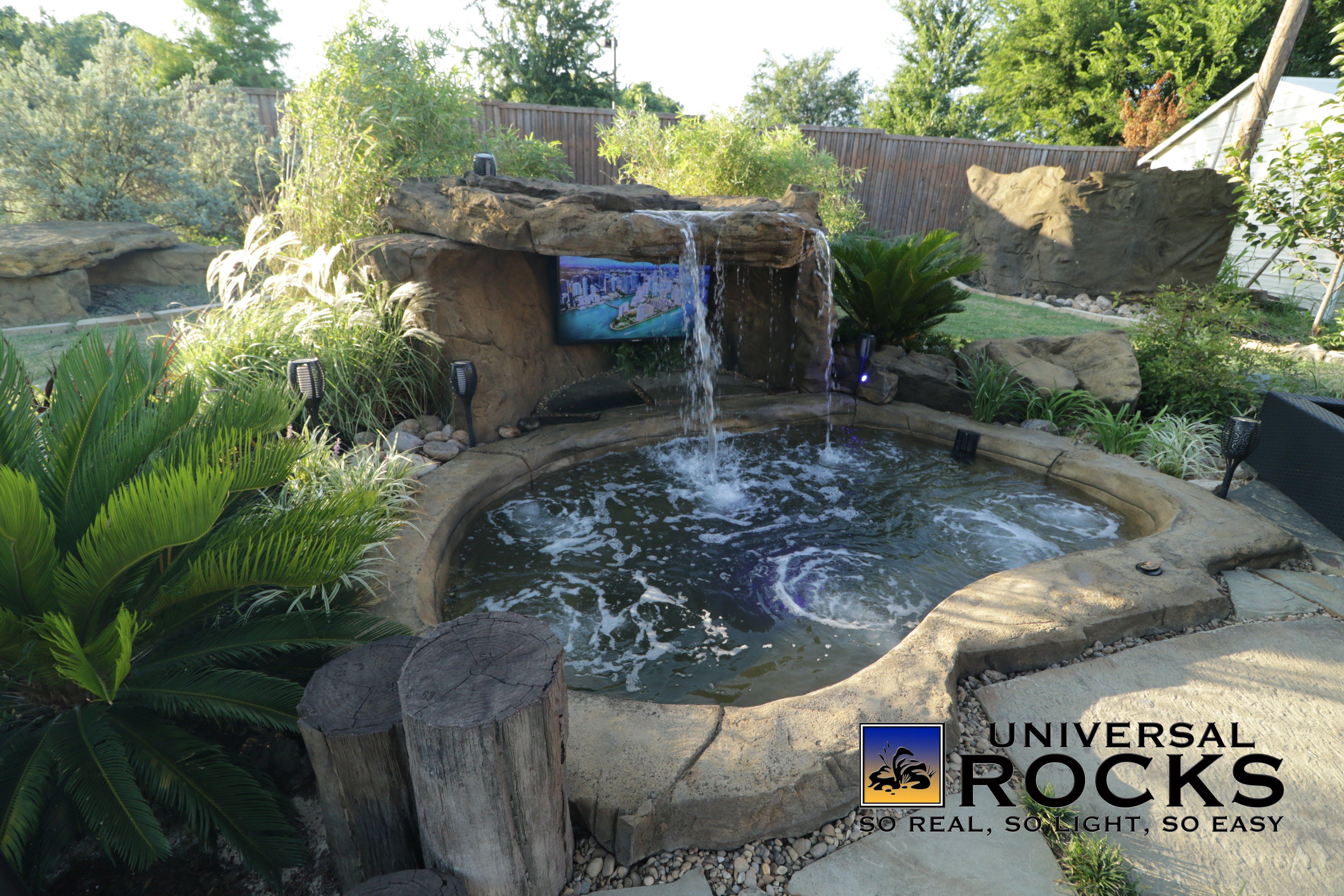 Custom Rock Hot Tubs Amp Spas Universal Rocks