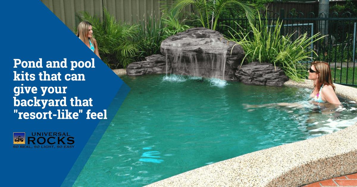 Pool Kits to Make Your Backyard Feel Like a Resort