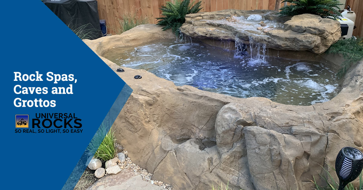 Transform Your Pool with Rock Spas, Caves and Grottos