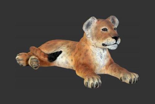 Lion Cub - Lying Down