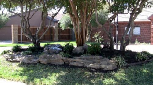 Garden Rock Edging - GRE-006