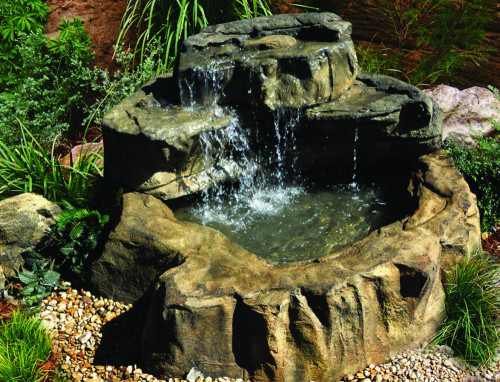 Medium Patio Pond - with MW-015