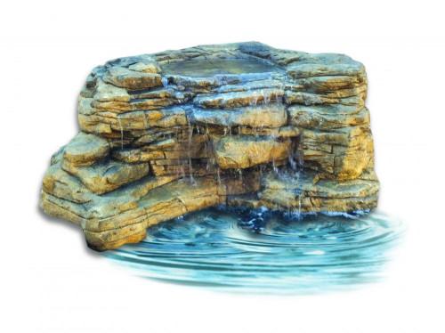 Ponds - pond waterfalls - waterfalls - Large Edge Waterfall-LEW-006-corner